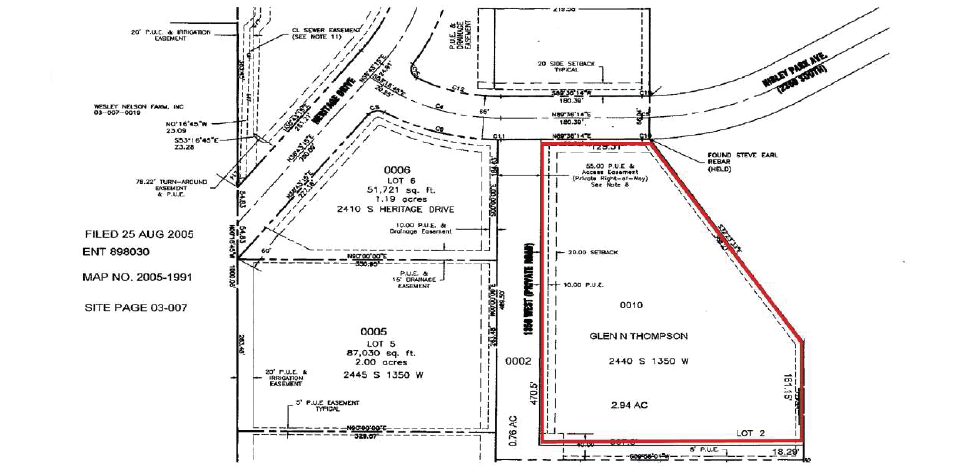 Nibley Commercial Lot